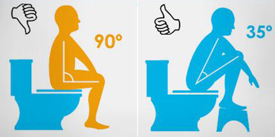 La bonne position pour aller aux toilettes {Et en finir avec la constipation}