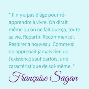Citation de Fançoise Sagan