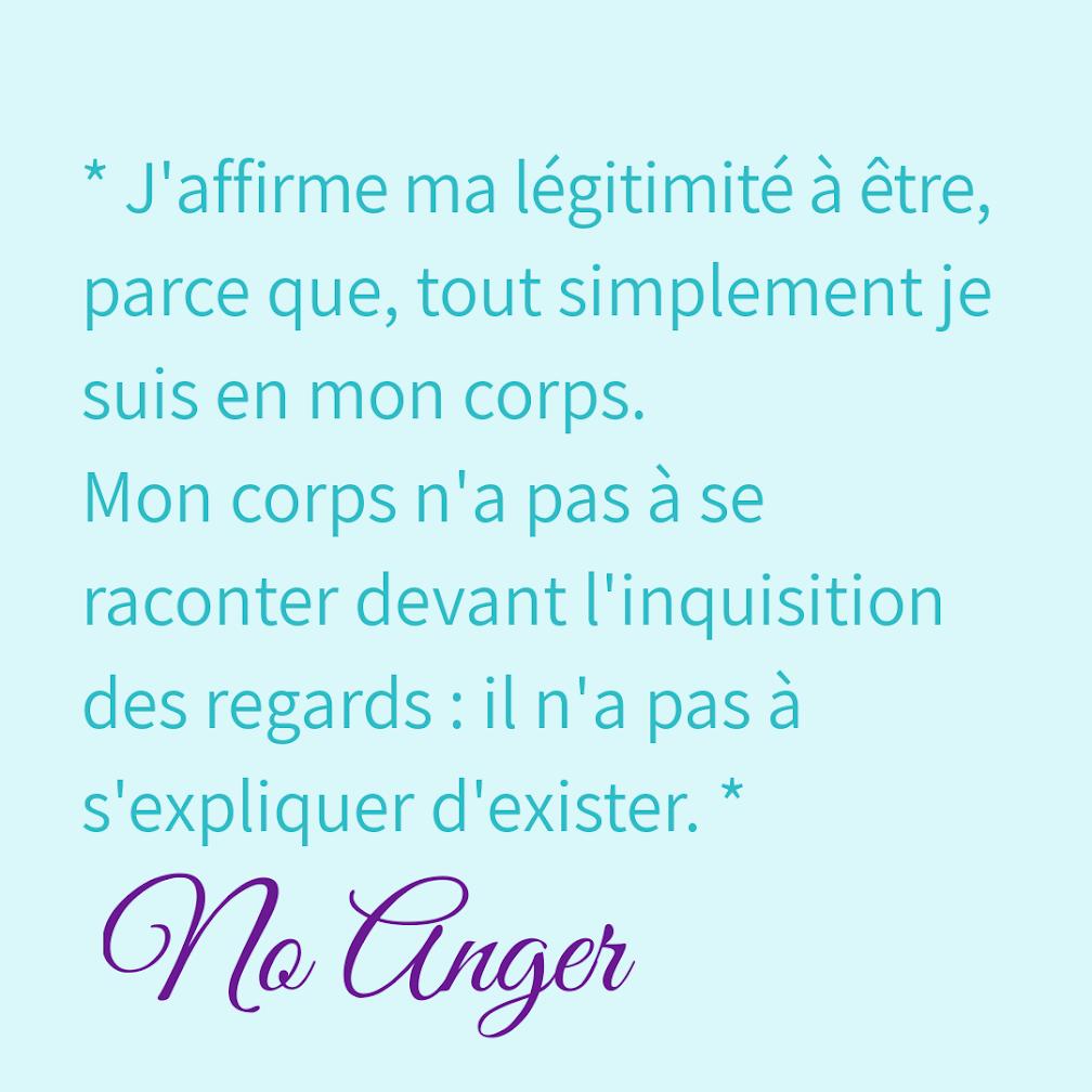Citation de No Anger